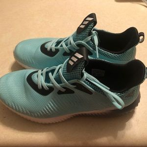 040de8b30e3b1 adidas Shoes - Turquoise Adidas AlphaBounce Sneakers Size 8 1 2
